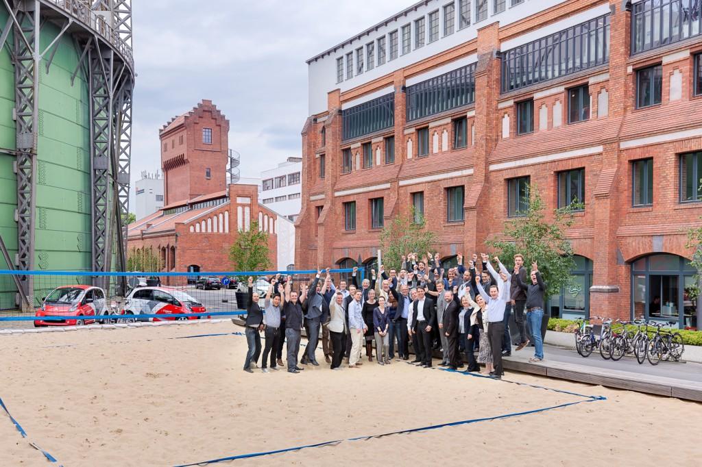 Das Mobility2Grid-Team für die Hauptphase